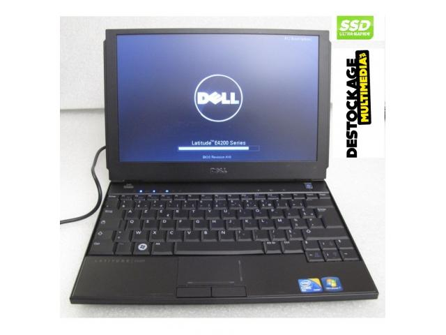 photo de PC portable Dell Latitude E4200 Intel Core 2 Duo SU9600 1.60GHz 128SSD 3GB Windows 7 pro 64bits