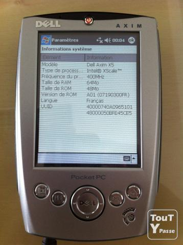 Photo PDA Axim X5 DELL image 1/3