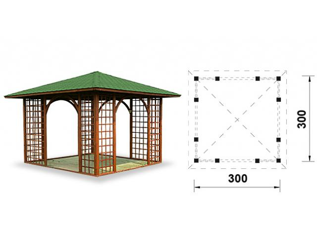 Photo PERGOLA EN BOIS image 1/1