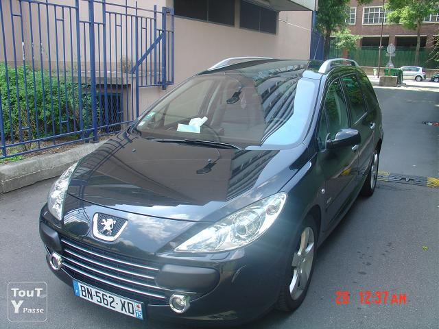 peugeot 307 sw griffe 1 6 hdi 110 fap navteq on board paris 18 buttes montmartre 75018. Black Bedroom Furniture Sets. Home Design Ideas
