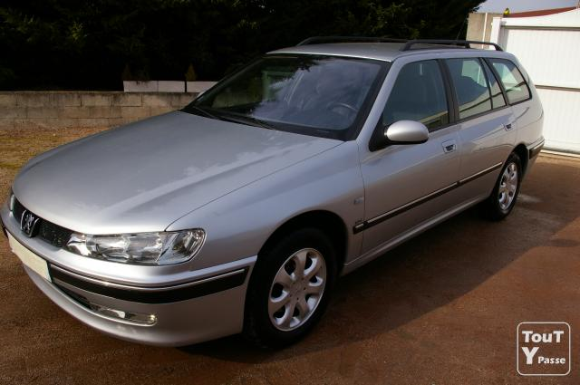 photo de PEUGEOT 406 BREAK HDI 110 SR PACK