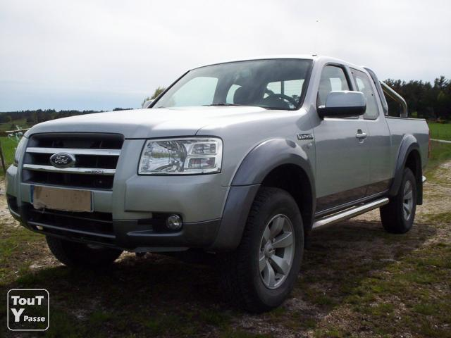 photo de Pick up 4*4 ford ranger tdci 143 ch xlt cabine