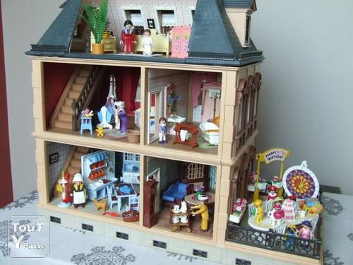 playmobil maison 1900 victorienne toulon 83000. Black Bedroom Furniture Sets. Home Design Ideas