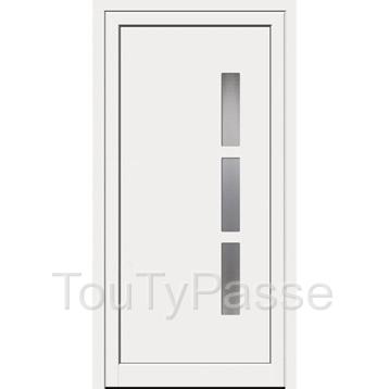 photo de PORTE D'ENTREE PVC NEUVE