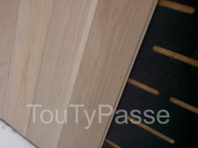 photo de POSE DE PARQUET FLOTTANT OU COLLE