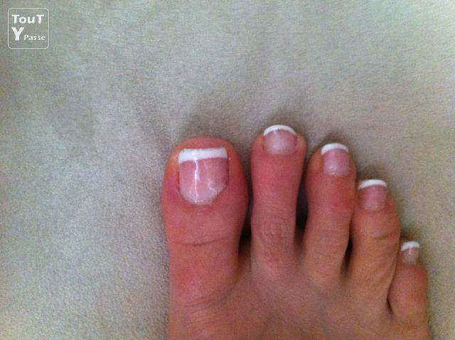 Pose ongles gel uv french blanche ou couleurs mains et pieds le perray en yvelines 78610 - Ongle gel french blanche ...