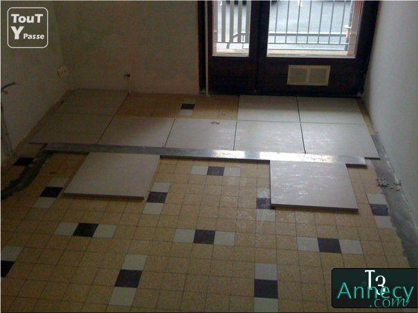 Coller un carrelage sur un carrelage existant 28 images for Poser carrelage sur ancien carrelage