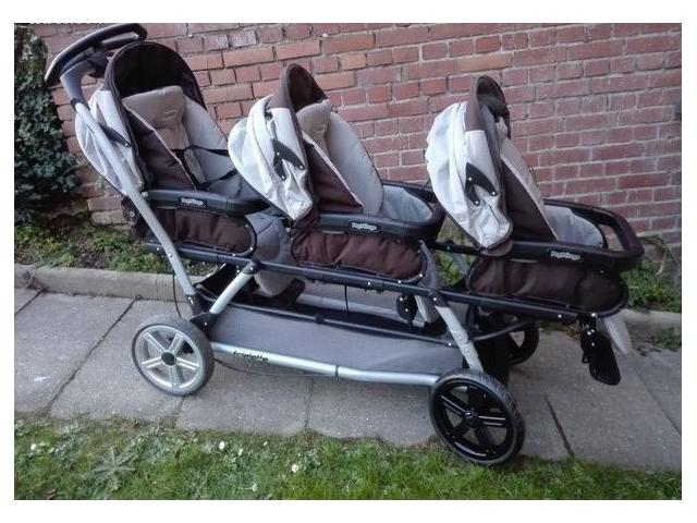 photo de Poussette triple PEG PEREGO