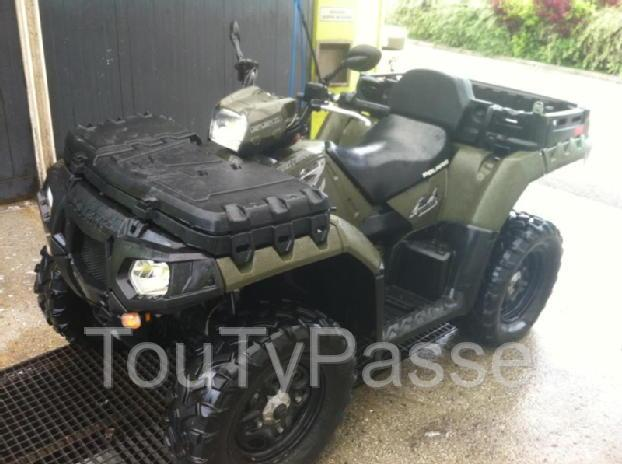 photo de Quad Polaris 550