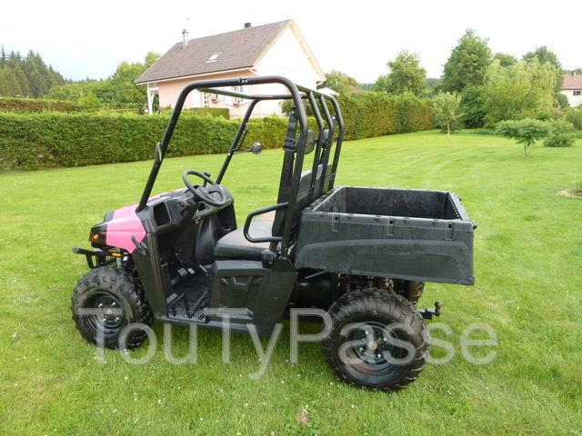 quad polaris ranger 400 4x2 route 2 places homologu hainaut. Black Bedroom Furniture Sets. Home Design Ideas