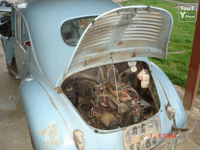 photo de RENAULT 4 CV d epoque pieces 2 cv méhari diane