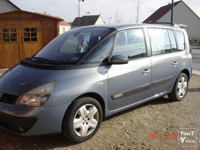 renault espace iv 2 2 dci expression 150cv 7 places. Black Bedroom Furniture Sets. Home Design Ideas