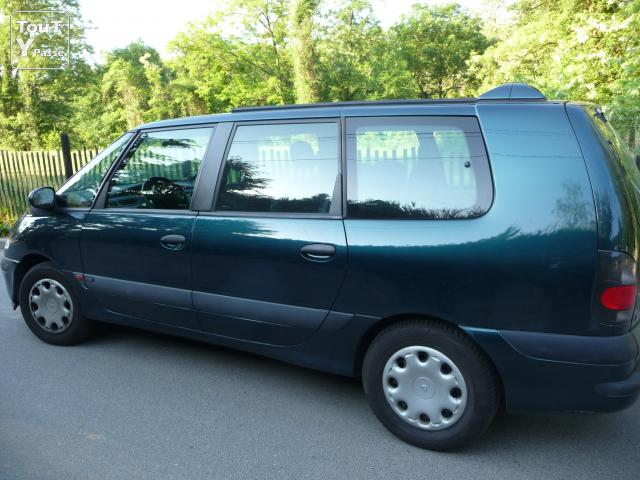 renault espace 2 diesel 7 places occasion. Black Bedroom Furniture Sets. Home Design Ideas