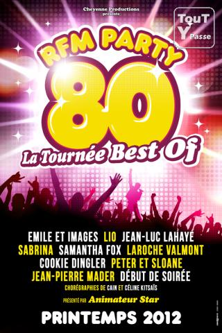 "photo de RFM Party 80 ""La Tournée Best Of"" le 24 février à Nice"