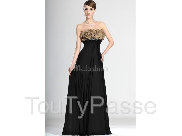 photo de Robe de Fête Bustier de Bijouterie de Bustier-mafashion.fr