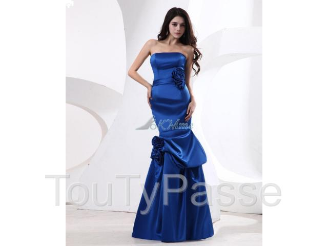 photo de Robe Demoiselle D' honneur/ Robe de Fête-okmme.com