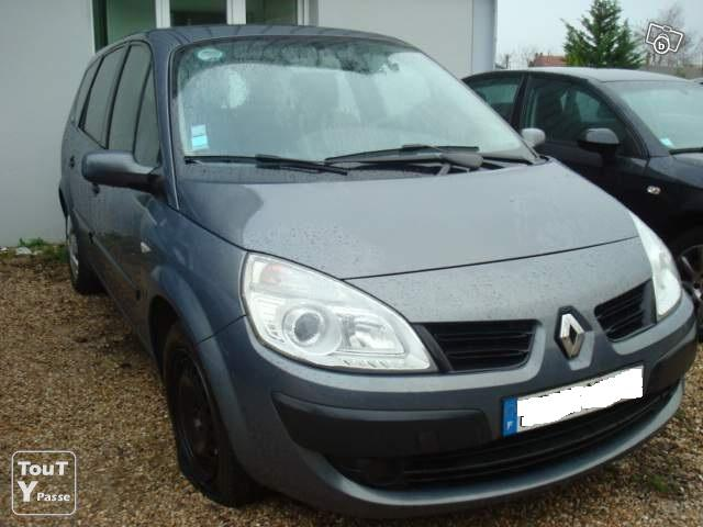 annonces renault scenic pepite 7 places. Black Bedroom Furniture Sets. Home Design Ideas