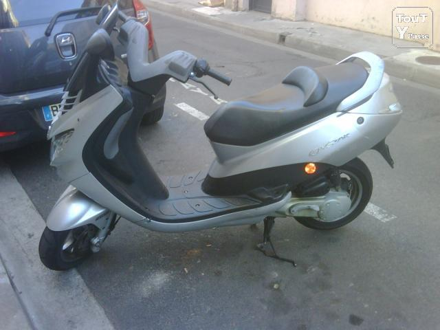 photo de SCOOTER ELYSTAR GRIS
