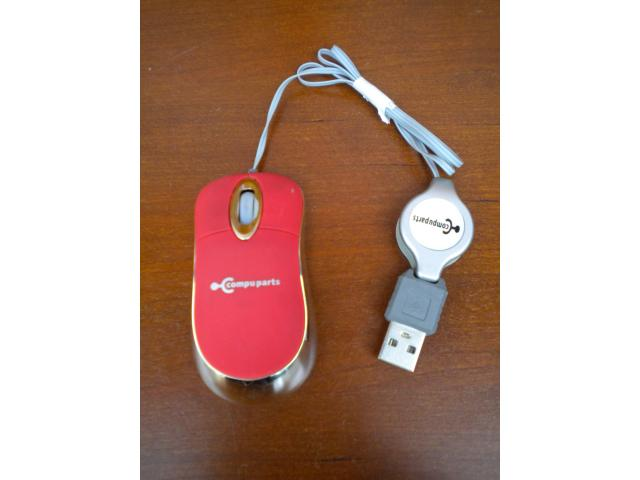 Photo SOURIS OPTIQUE PC mini « Compuparts » image 1/3
