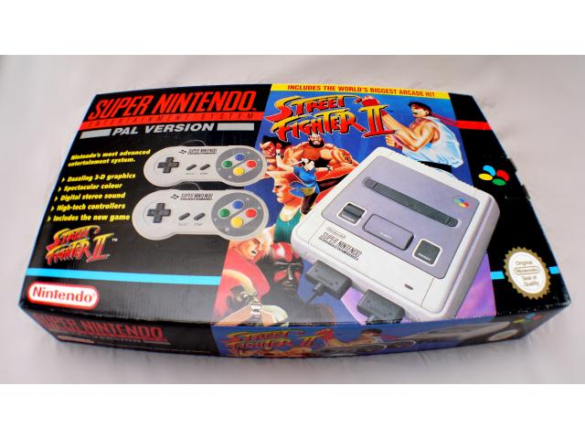 Photo ★★★ Nintendo SNES Street Fighter 2 pack + Scope 6 ★★★ image 1/6