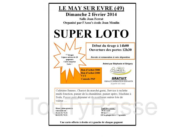 photo de SUPER LOTO organisé par l'Asso' s  Jean Moulin.