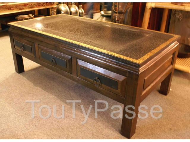 table basse chinoise 6 tiroirs h 45 cm ardennes. Black Bedroom Furniture Sets. Home Design Ideas