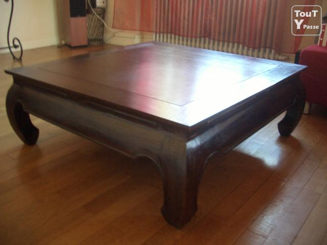 Table basse opium maison du monde 1m 1m barr 67140 for Table basse maison du monde