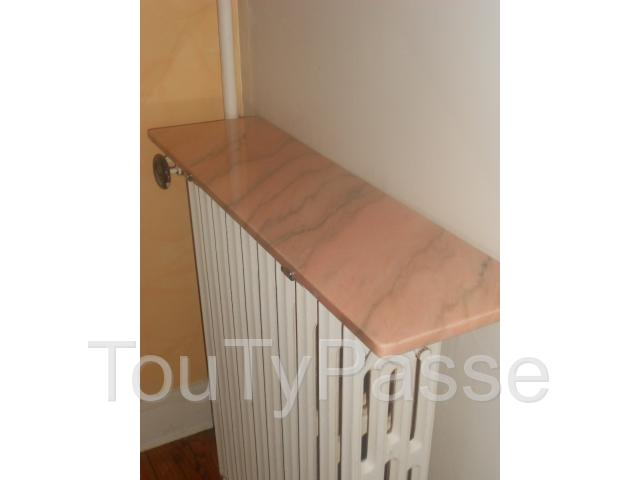 Tablette radiateur marbre design d 39 int rieur et id es de for Decoration murale kross