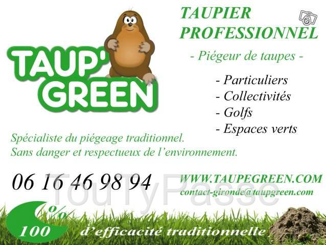 photo de Taupier Professionnel - Gironde -