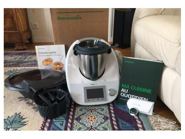 photo de Thermomix tm5 connecté