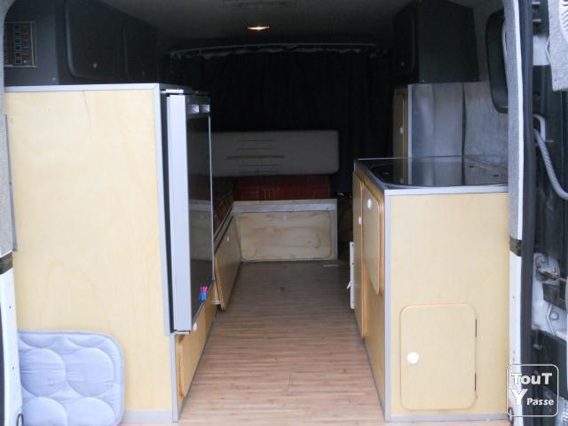 trafic 2003 bm6v l2h1 camping car pornichet 44380. Black Bedroom Furniture Sets. Home Design Ideas