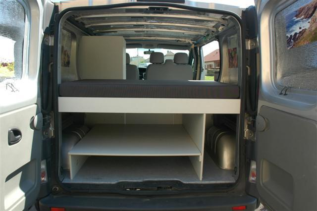 Souvent Amenagement Interieur Renault Trafic: Kit am?nagement bois pr? d  LS09