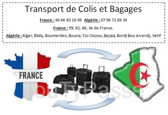 photo de transport Colis France vers L'Algérie
