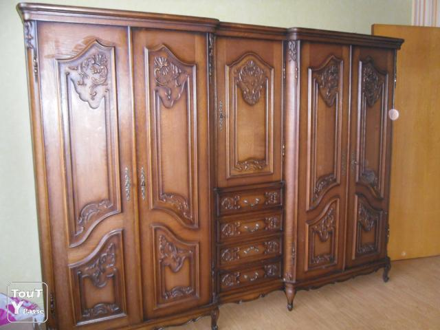 vend armoire artisanale 3p armoire 5p 4 tiroirs alsace. Black Bedroom Furniture Sets. Home Design Ideas