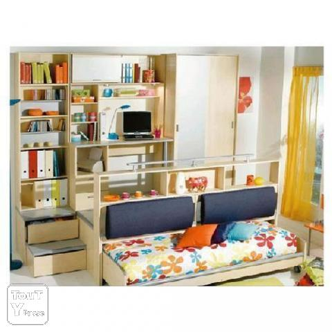 vend chambre d 39 ado estrade bureau 140 deux place provence alpes c te d 39 azur. Black Bedroom Furniture Sets. Home Design Ideas