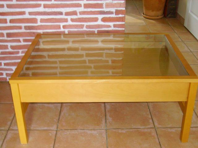 Acheter Table Basse Palette Bois ~ Table Basse ? Tiroir Et Plateau De Service Pictures To Pin On