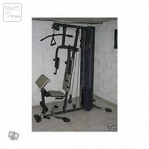 Vends banc de muculation hg85op charge 110 kg thiais 94320 - Banc de musculation hg 90 ...