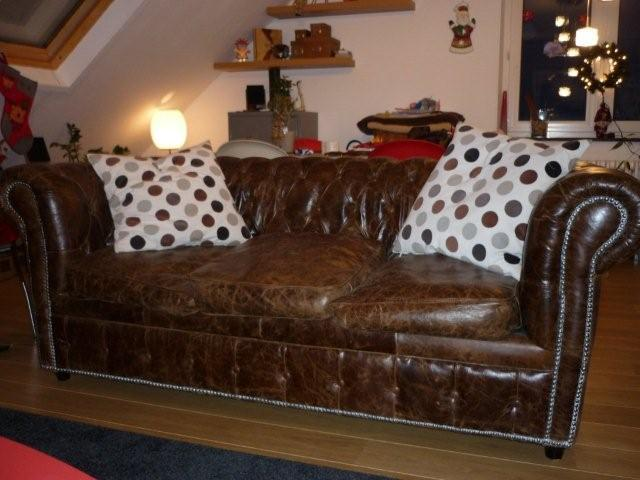 Vends canap fauteuil chesterfield - Canape chesterfield cuir occasion ...