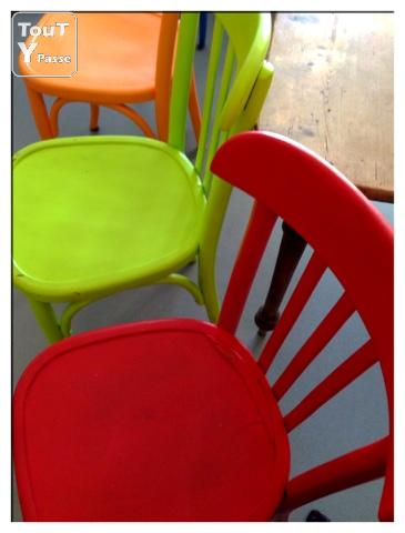 photo de Vends chaises bistrot
