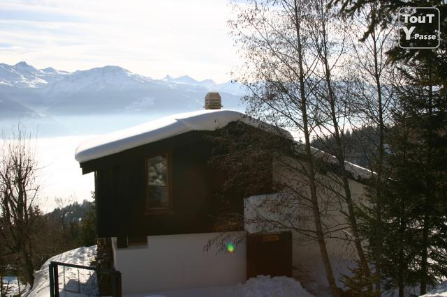 photo de Vends chalet crans montana barzettes