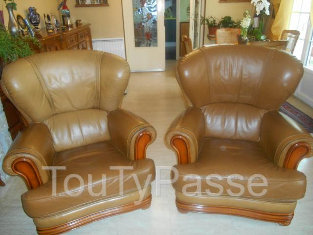photo de VENDS SALON COMPLET