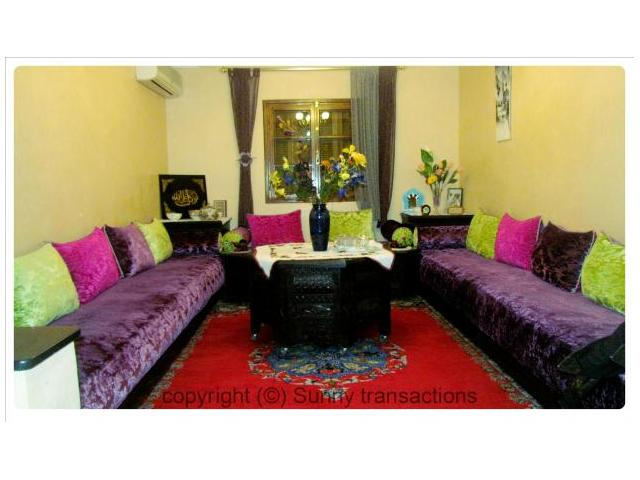 Vente appartement de 78 m au 3eme tage marrakech tensift for Jardin collectif 78
