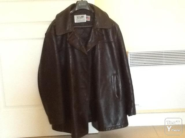 photo de Veste cuir homme SCHOTT