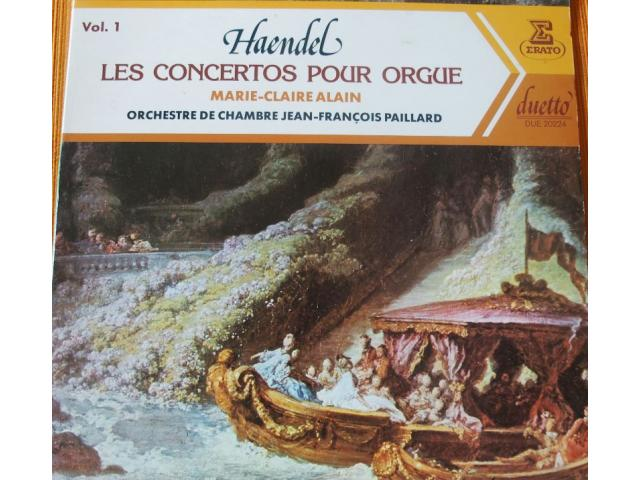 photo de Vinyls  (2)  HAENDEL  Orgue  MC  ALAIN