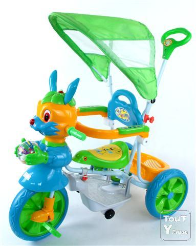 photo de Vélo tricycle lapin