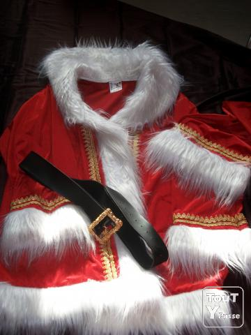 vrai costume de pere noel haut de gamme haute loire. Black Bedroom Furniture Sets. Home Design Ideas
