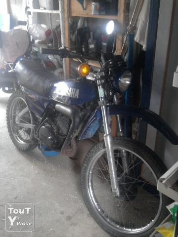 photo de Yamaha 125 dtmx
