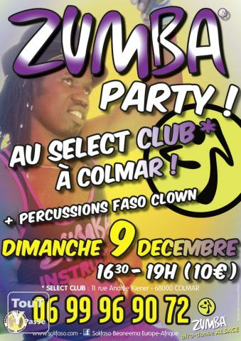 photo de Zumba Party dimanche 9 décembre 2012 au SELECT-CLUB à COLMAR - Beoneema
