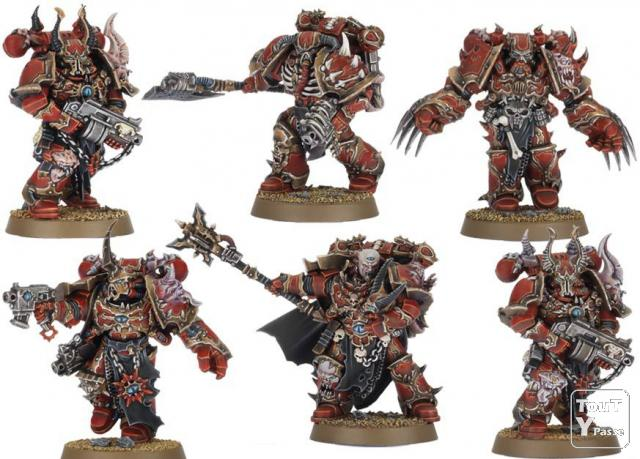 Arm e warhammer 40k space marines du chaos for Portent warhammer
