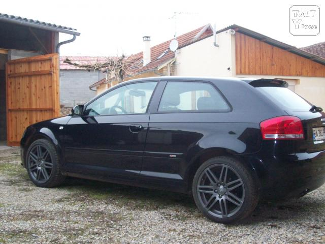 audi a3 tdi 140 exclusive line s tronic 44 500 km martiel 12200. Black Bedroom Furniture Sets. Home Design Ideas